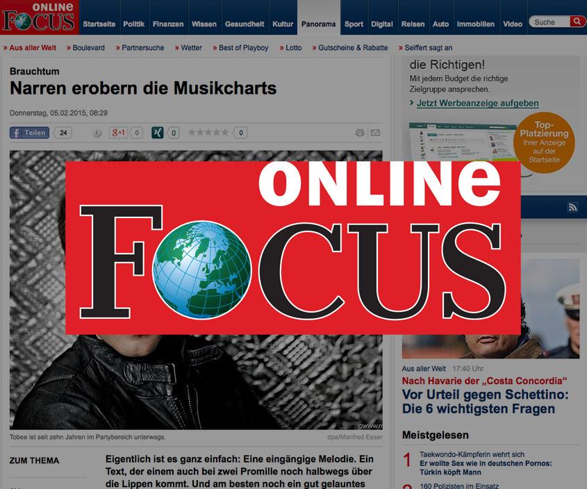 Focus Online Narren erobern die Charts