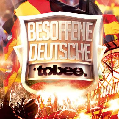 Besoffene Deutsche von Tobee - Cover